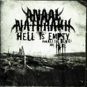 Anaal Nathrakh: Hell Is Empty, And All The Devils Are Here - Cover