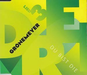 Herbert Grönemeyer: Lied 3 - Du Bist Die (Single-CD) - Bild 1