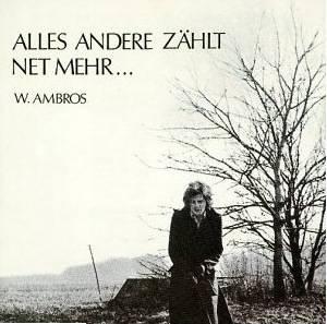 Wolfgang Ambros: Alles Andere Zählt Net Mehr... (LP) - Bild 1
