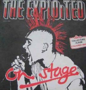 The Exploited: On Stage - Cover