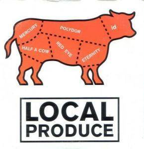 Cover - Rebecca's Empire: Local Produce: Polydor Red Eye Id Mercury Half A Cow Eternity