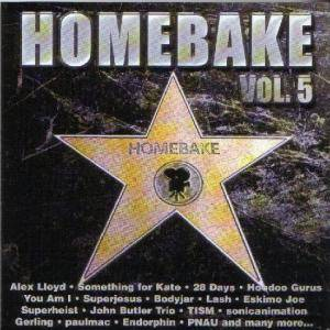 Cover - Bluebottle Kiss: Homebake 5