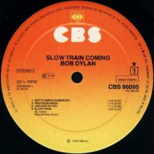 Bob Dylan: Slow Train Coming (LP) - Bild 2