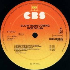Bob Dylan: Slow Train Coming (LP) - Bild 3