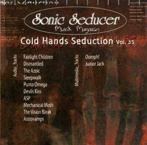 Sonic Seducer - Cold Hands Seduction Vol. 35 (2004-03) - Cover