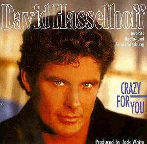 David Hasselhoff: Crazy For You - Cover