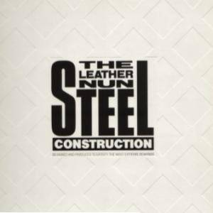 Cover - Leather Nun, The: Steel Construction