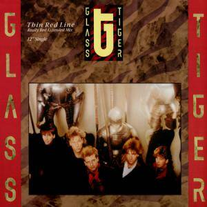 Cover - Glass Tiger: Thin Red Line