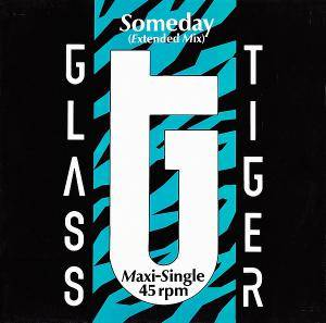 Cover - Glass Tiger: Someday