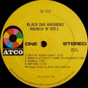 Black Oak Arkansas Raunch N Roll Live Lp 1973 Live Gatefold