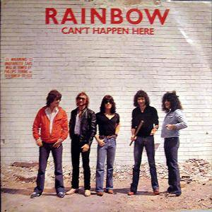 Rainbow: Can't Happen Here - Cover