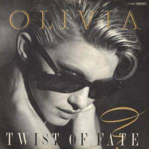 Olivia Newton-John: Twist Of Fate - Cover
