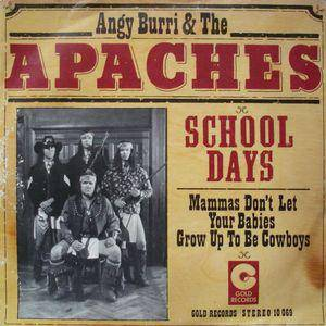 Cover - Angy Burri & The Apaches: School Days