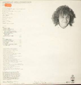 Andreas Vollenweider: White Winds (LP) - Bild 2