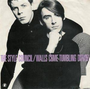 The Style Council: Walls Come Tumbling Down! - Cover