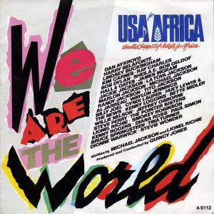 USA For Africa, Quincy Jones: We Are The World - Cover
