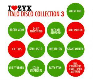 Cover - Nicky & Nicky: I Love ZYX Italo Disco Collection 03