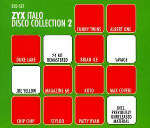 I Love ZYX Italo Disco Collection 02 - Cover