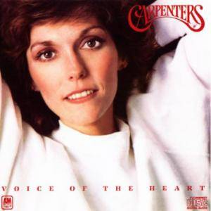 The Carpenters: Voice Of The Heart - Cover