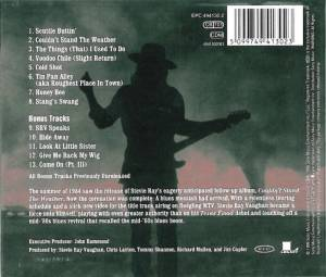 Stevie Ray Vaughan And Double Trouble: Couldn't Stand The Weather (CD) - Bild 2