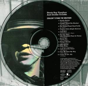 Stevie Ray Vaughan And Double Trouble: Couldn't Stand The Weather (CD) - Bild 3