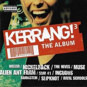Kerrang! 3 The Album - Cover