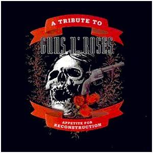 Cover - Phil Lewis: Appetite For Reconstruction - A Tribute To Guns N' Roses