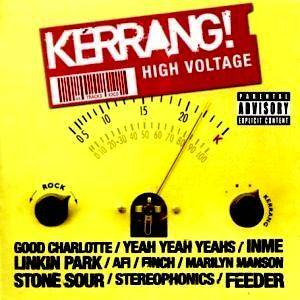 Cover - Moving Units: Kerrang! High Voltage