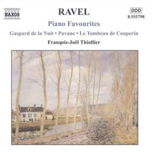 Maurice Ravel: Piano Favourites - Cover