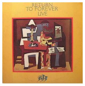 Cover - Return To Forever: Live
