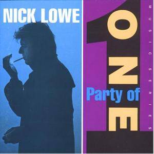 Nick Lowe: Party Of One - Cover