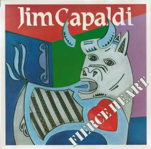 Cover - Jim Capaldi: Fierce Heart