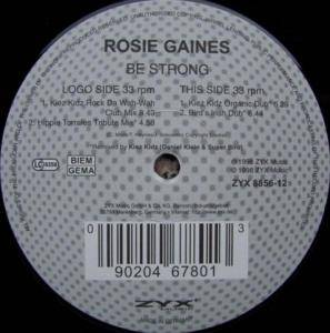 Cover - Rosie Gaines: Be Strong