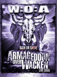 Armageddon Over Wacken - Live 2005 - Cover