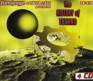 History Of Techno, The - Cover