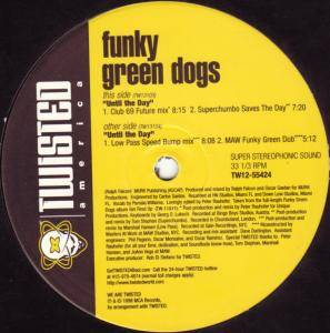 Cover - Funky Green Dogs: Until The Day