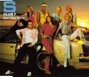 Cover - S Club 7: Don't Stop Movin