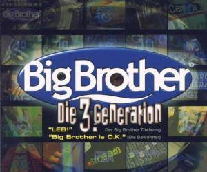 Die 3. Generation / Die Bewohner: Leb / Big Brother Is O.K. (Split-Single-CD) - Bild 1