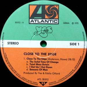 Yes: Close To The Edge (LP) - Bild 7