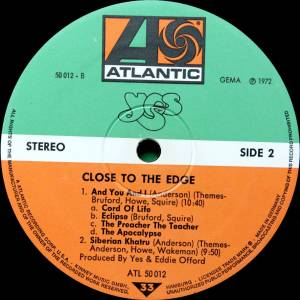 Yes: Close To The Edge (LP) - Bild 8
