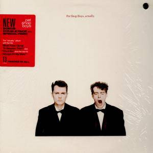 "Pet Shop Boys: Actually (LP + 12"") - Bild 1"