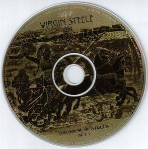 Virgin Steele: The House Of Atreus Act I (CD) - Bild 3