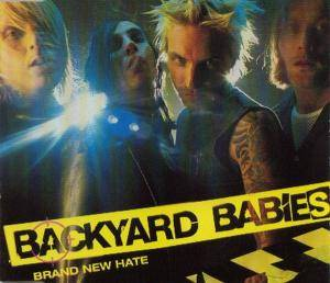 Backyard Babies: Brand New Hate - Cover