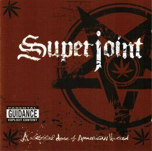 Superjoint Ritual: Lethal Dose Of American Hatred, A - Cover