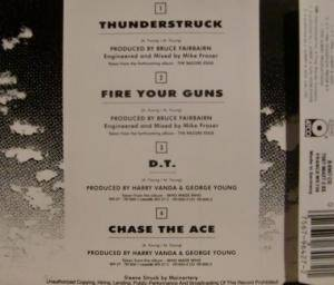 AC/DC: Thunderstruck (Single-CD) - Bild 2