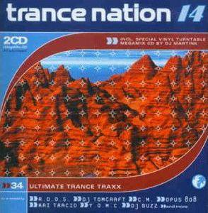 Cover - M-Traxx: Trance Nation 14