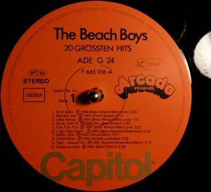 The Beach Boys: 20 Grössten Hits (LP) - Bild 4