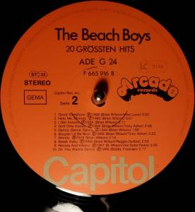 The Beach Boys: 20 Grössten Hits (LP) - Bild 6