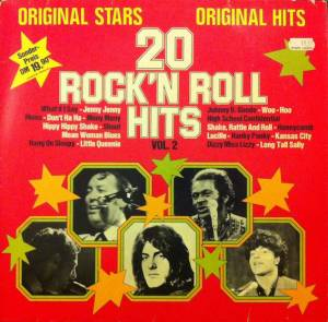 Cover - Rock-A-Teens, The: 20 Rock'n Roll Hits Vol. 2