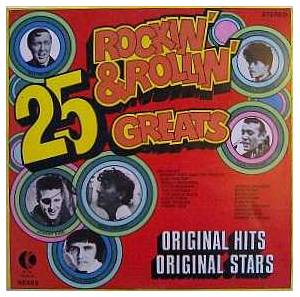 Cover - Johnny Kidd & The Pirates: 25 Rockin' & Rollin' Greats